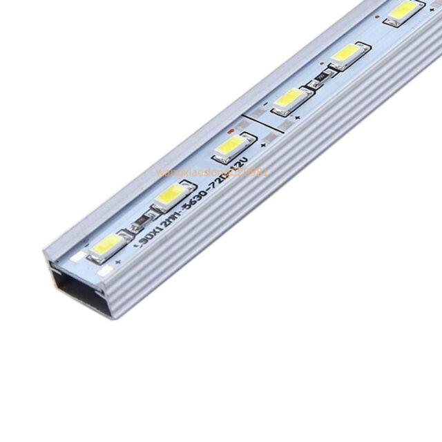 5-100x 0.5M U V Style Aluminum AL Case Shell For 5050 5630 7020 Rigid LED Strip