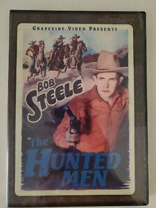 The Hunted Men (DVD, 2015) Bob Steele New/Sealed