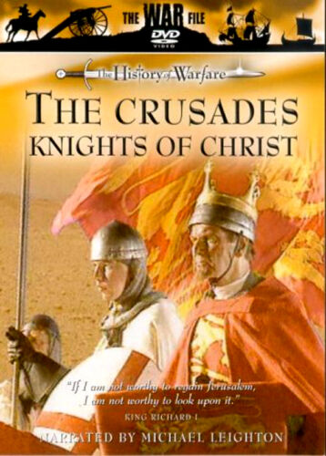1 of 1 - THE HISTORY OF WAR THE CRUSADES KNIGHTS OF CHRIST NEW DVD  MILITARY PROGRAMME