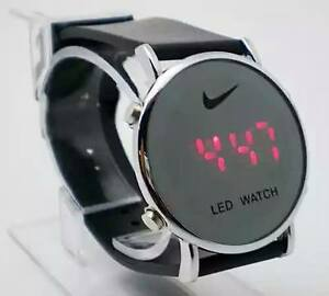 Image is loading Nike-LED-Sports-Watch-Black-Cheapest-Anywhere