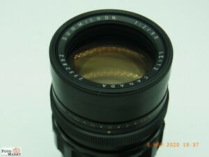 Leitz-Canada-Objektiv-Summicron-1-2-90mm-fuer-Leica-M-Bajonett-M6-M4-M3-Tele
