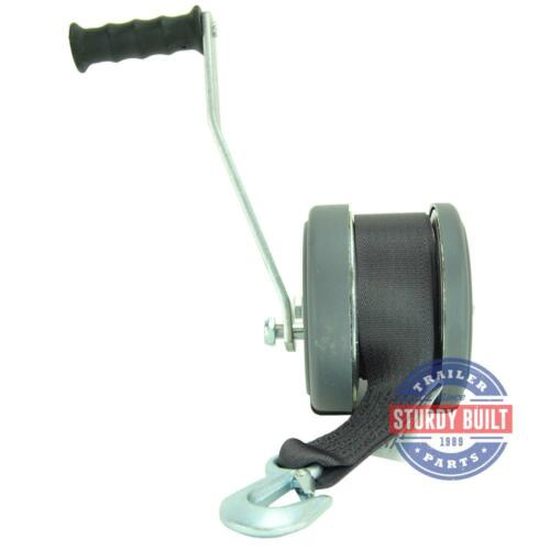 Boat Trailer Winch 2300 lb Capacity DLX with Winch Strap Dutton Lainson
