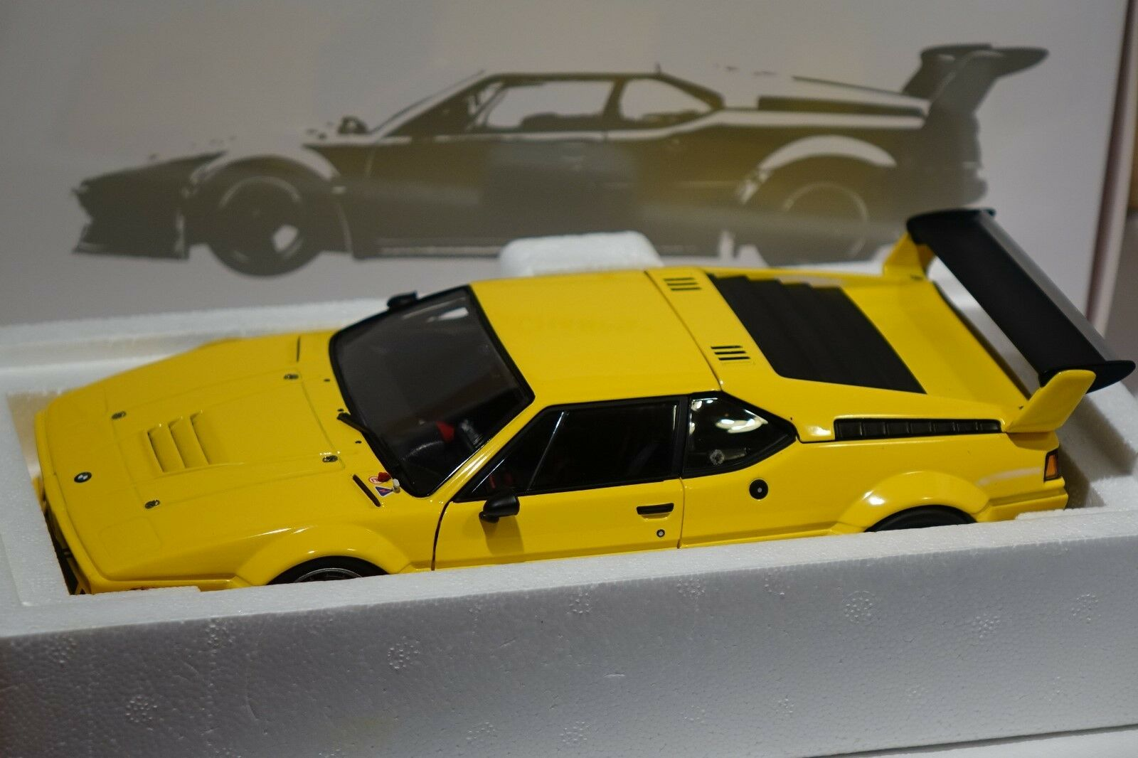 BMW m1  Provoiture Plain Body Version jaune 1979 1 18 Minichamps nouveau + OVP 180792998  vente directe d'usine