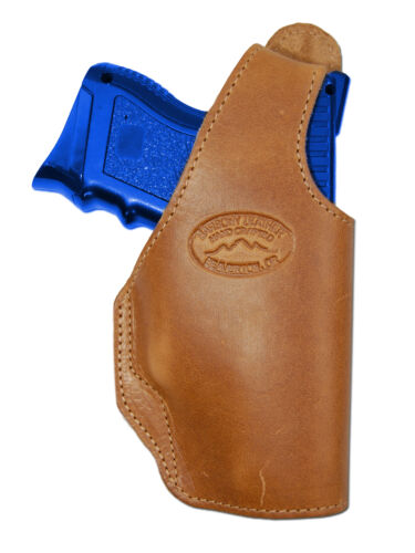 New Barsony Tan Leather OWB Belt Holster HK FNX Compact Sub-Compact 9mm 40 45