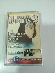 Super-Rumbas-2-Nur-Lain-Habibi-Anabalina-Cinta-Tape-Cassette-Nueva-2T