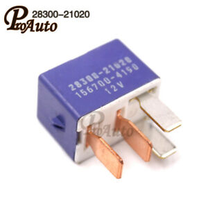 Genuine 4-Pin Starter Relay Module Unit 28300-21020 156700-4190 Fit on 4 pin relay connector, 4 pin fuel relay, 4 pin relay lighting, 4 pin micro relay, 4 pin relay terminals, 4 pin headers, 4 pin relay testing, 4 pin switch circuit diagram, 4 pin power relay, 4 pin to 5 pin harness, 4 pin relay harness, 4 pin horn relay, 4 pin relay sockets, 4 pin relay wire, 4 pin toggle switch, 4 pin relay operation, 4 pin relay with pigtail,