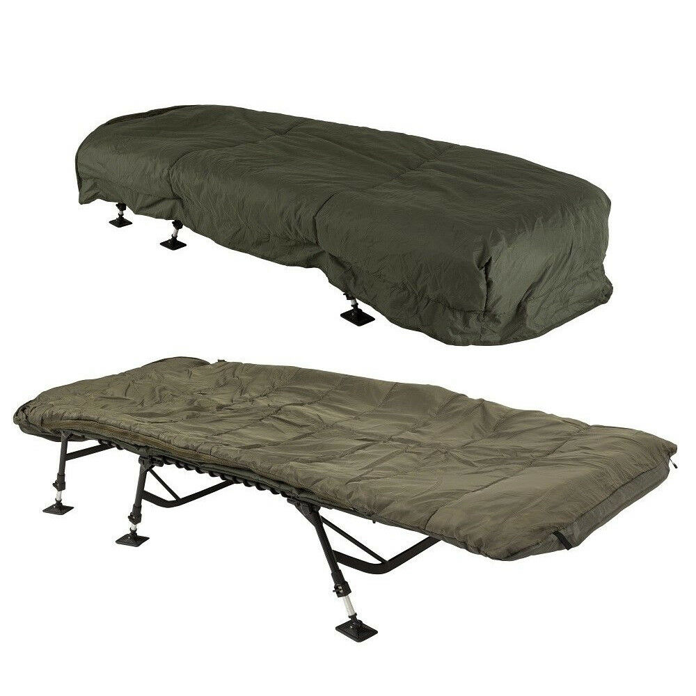 JRC Defender Fleece Sleeping Bag & Cover Cover Cover NEW Carp Fishing Sleeping Bag df8383
