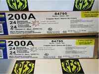 Square D Qo124m200 200 Amp 120/240volt Main Breaker Single Phase Nema 1