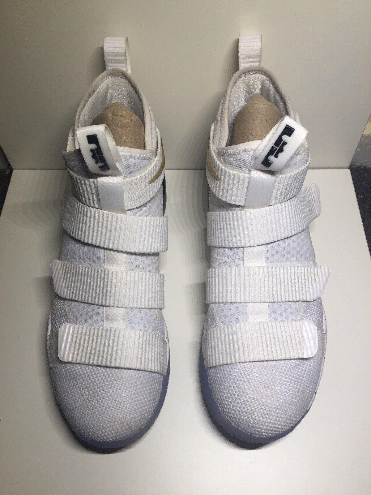 c2dbef8bba Nike Lebron Soldier Sz 8.5 897644-101 XI npbgah3646-Athletic Shoes ...