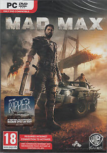 Mad Max with Ripper PC Brand New Factory Sealed Fast Shipping