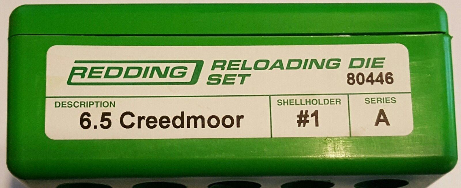 80446 rojoding 2-DIE Full Length 6.5 Creedmoor Die Set-Nuevo-Envío Gratis
