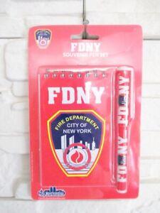 New-York-Fire-Brigade-Notepad-With-Ballpoint-Pen-Fire-Department