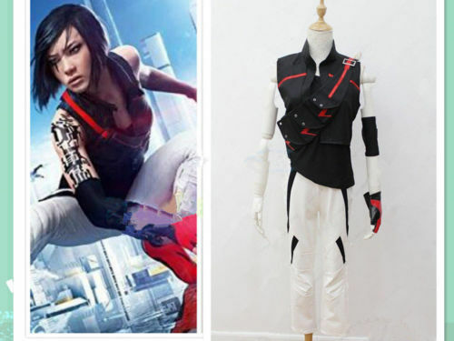 Details about  /Mirror/'s edge catalyst Cosplay Costume With Bag :Free Shipping!COS