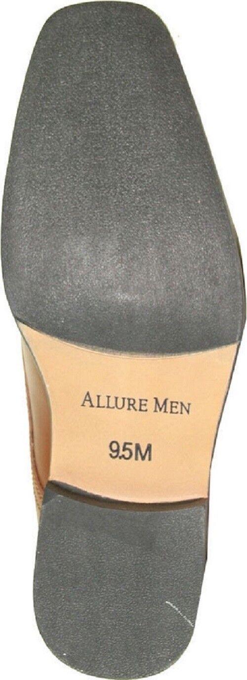 Allure Dress Men AL02 Dress Allure Stiefel Fashion Tuxedo for Wedding, Prom & Formal Event braun bcbe26