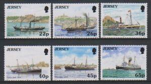 Jersey-2001-Post-Packung-Schiffe-Set-MNH-Sg-973-8