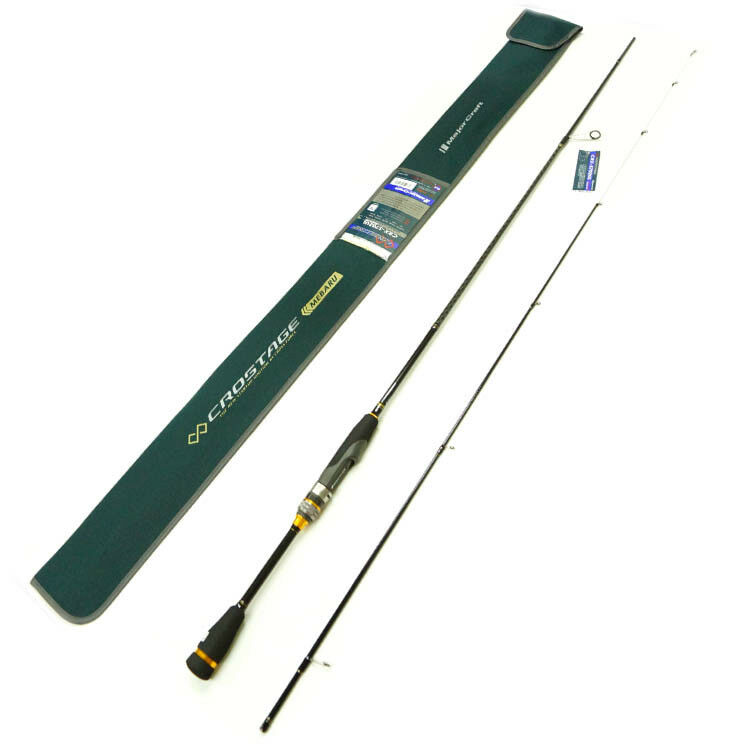 Major Craft CROSTAGE 2 piece rod  CRX-S702UL SOLID TIP