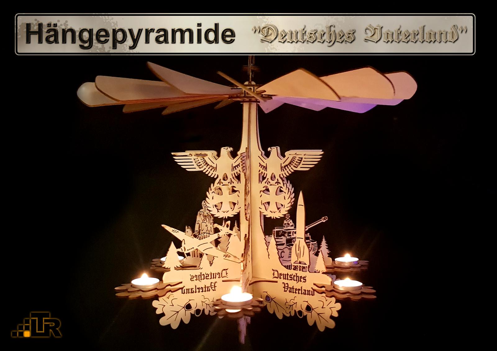 Hängepyramide Hängepyramide Hängepyramide - Deutsches Vaterland-Wärmespiel - Deko Militaria ww2 7d2873