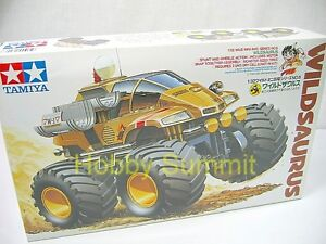 17006-Tamiya-1-32-WILD-SAURUS-Wild-Mini-4WD-Stunt-and-Wheelie-Motorized-Kit