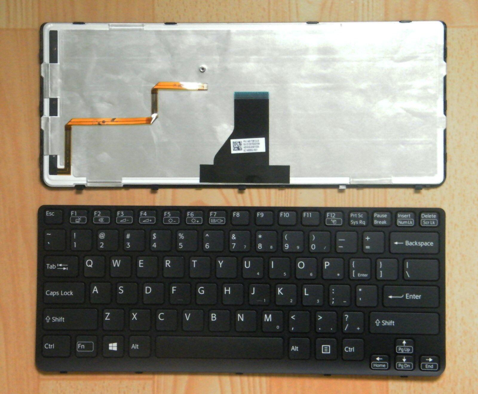 Keyboards4Laptops German Layout Grey Frame Backlit Black Windows 8 Laptop Keyboard For Sony Vaio SVE1512GCXW Sony Vaio SVE1512H1EW Sony Vaio SVE1512H1ESI Sony Vaio SVE1512H1E Sony Vaio SVE1512H1EB