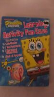 Spongebob Squarepants Fun Case With Activity Books Flash Cards & Stickers Fc6