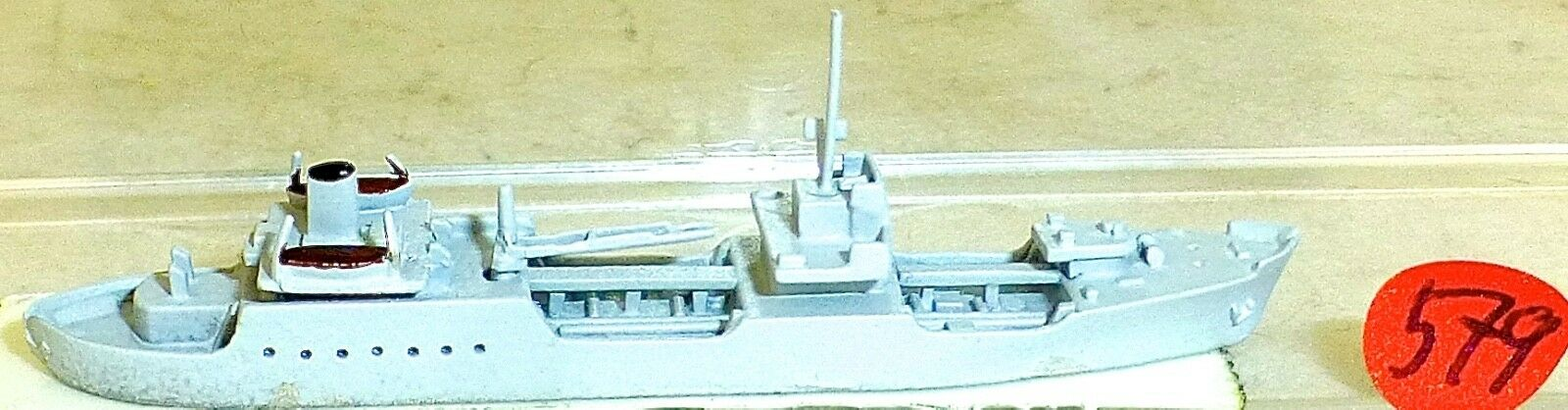 Poel Flottentanker Rda Hai 328 Modèle de Bateau 1 1250 SHP579 Å