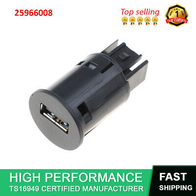 20944418 USB Port Receptacle White Fit 2010-18 Cadillac Chevrolet GMC Saturn
