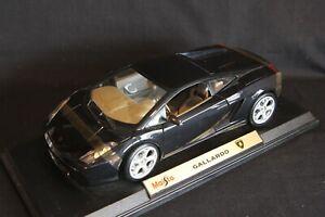 Maisto Lamborghini Gallardo 1:18 black (AK)
