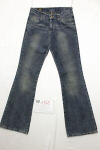 Lee-felton-en-velours-bleu-jeans-d-039-occassion-Cod-W182-Tg-41-W27-L33-boyfriend