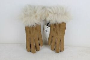 c9b8e4a55d793 Image is loading UGG-TOSCANA-3-POINT-CHESTNUT-SUEDE-SHEEPSKIN-GLOVES-
