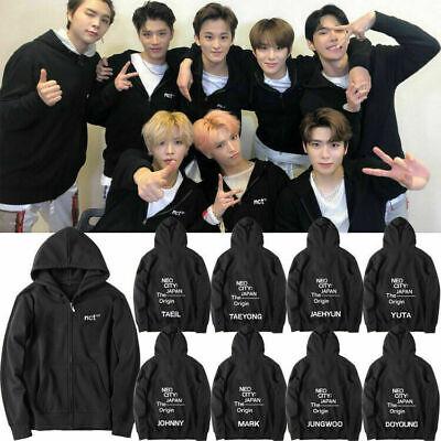 KPOP New NCT127 NEO CITY Hoodie Loose Pullover Cap Sweaster Taeyong Coat