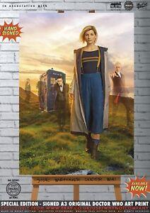 Doctor-Who-Jodie-Whittaker-Peter-Capaldi-Matt-Smith-David-Tennant-Art-Print-A3