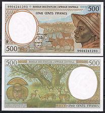 CENTRAL AFRICAN STATES REPUBLIC -  500 FRANCOS 1999 P.301Ff   SC  UNC