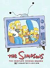 DVD-The-Simpsons-Complete-Season-2-Second-Discs-Only-NO-CASE-VG