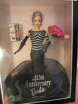 Mattel Barbie Doll - 40TH ANNIVERSARY BARBIE 1999 Collector Ed - #21384  (2&1S)