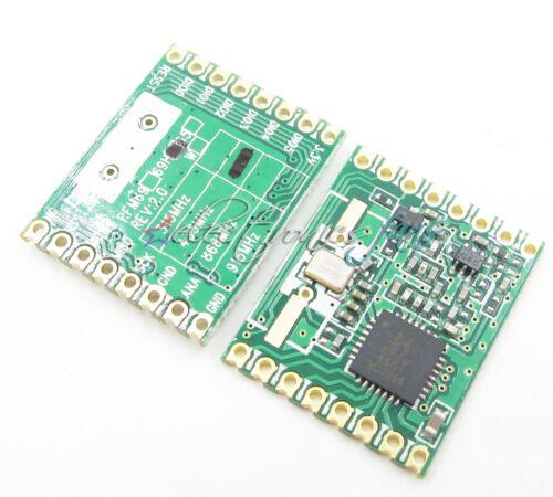 RFM69HW 433Mhz für Remote//HM RFM69HW-433S2 RFM12B HopeRF Kabellos Transceiver