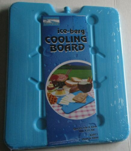 """REUSABLE ICE-BERG COOLING BOARDS Assorted Colors 10/"""" X 12.5/' Your Choice"""