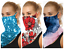thumbnail 3 - Face Mask Bandana Headwear Covering Neckerchief Neck Gaiter Scarf with Loops Ear