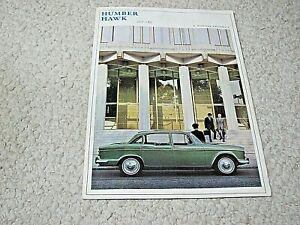1965 HUMBER HAWK (UK)  SALES BROCHURE !!!!