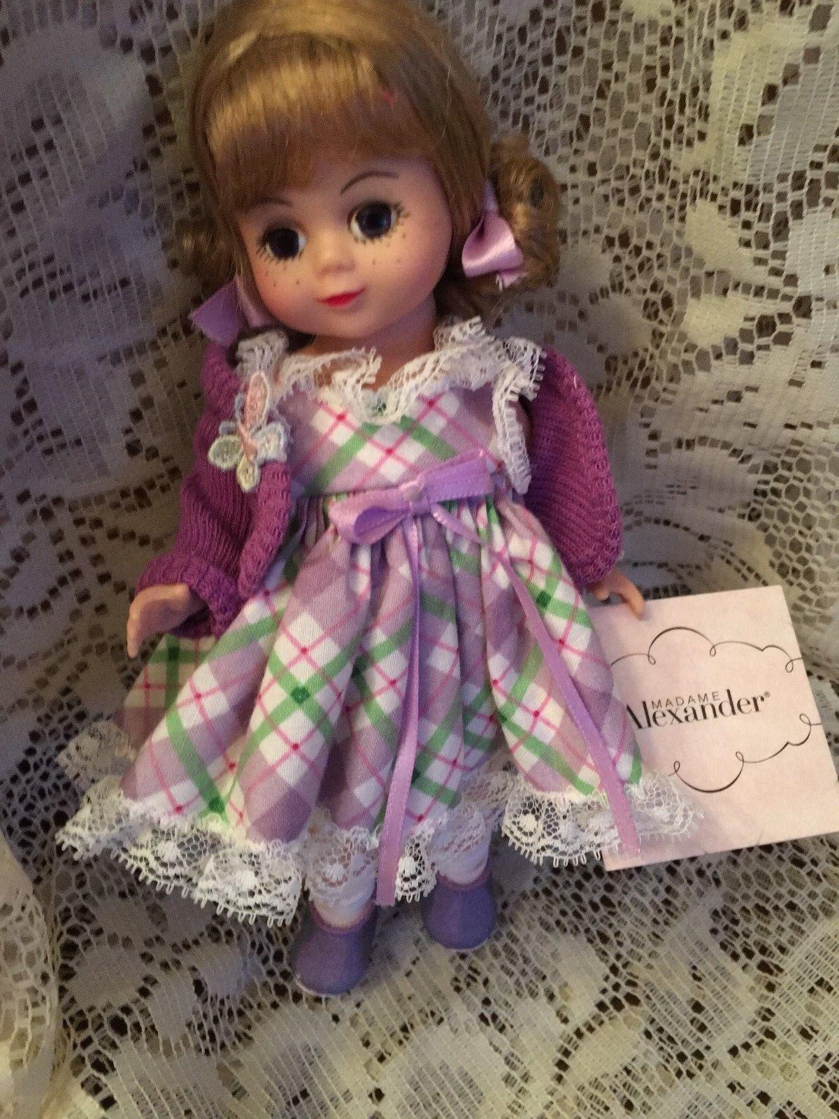 Butterflies    8   Madame Alexander doll