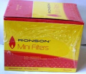 RONSON DISPOSABLE MINI FILTERS PACKS OF 10 JTd7wYBC-09160347-467359753