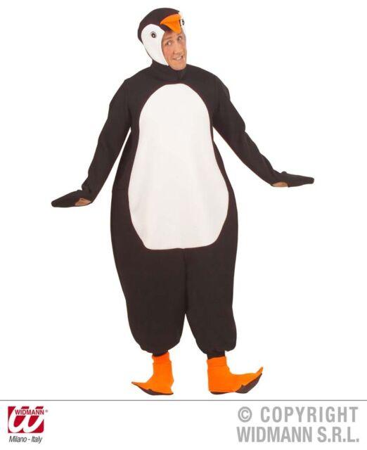 WIDMANN Costume vestito Pinguino carnevale uomo donna adulto mod. 5545_