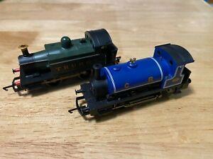 Hornby-2-0-4-0-LOCOS-GWR-TURBO-LOCO-amp-C-R-LOCO-Unboxed