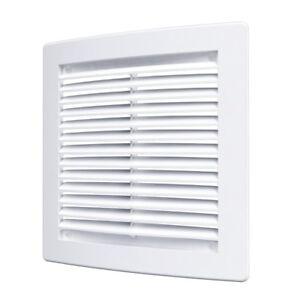 Ventilacion-Parrilla-Tubo-Cubierta-De-Ventilador-Cuadricula-Blanco-Marron-150mm