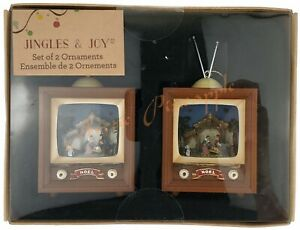 Jingles-amp-Joy-Holiday-Decor-Seasonal-Christmas-Noel-Nativity-Scent-TV-Ornaments