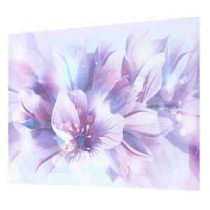Image Is Loading Purple Flower Fl Canvas Print Art Painting Picture