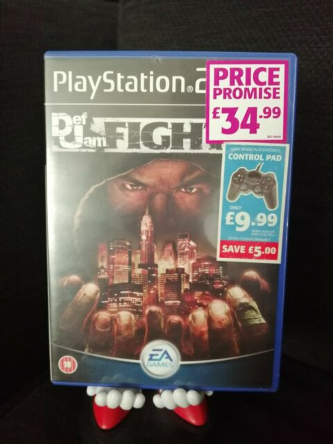 Def Jam: Fight for NY - PS2 PlayStation 2 Rare Very Good Condition