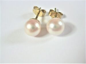 Earrings-Gold-585-with-Pearl-1-44-G
