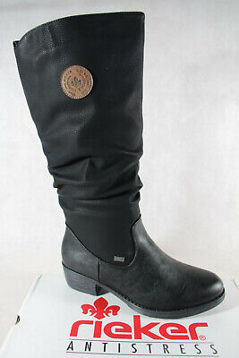 Rieker Ladies Tex Ankle Boots Winter Boots Black 93157 New   eBay