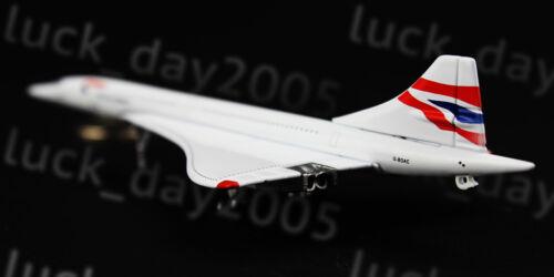16cm Gemini Jets British Airways Concorde G-BOAC Diecast Mode Airplane Gift New