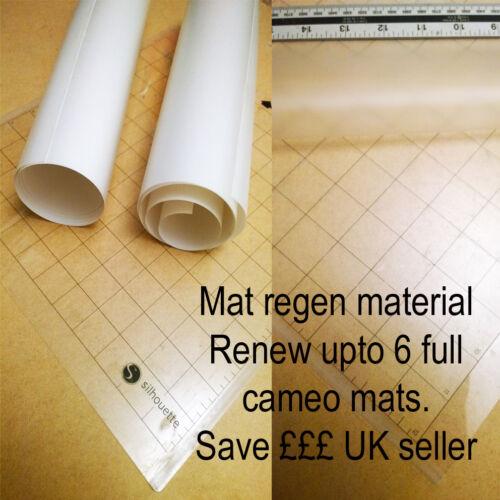 """Silhouette Cameo 12/"""" X 12/"""" Mat Coupe et 8 régénération des feuilles Save £ £ £ £"""